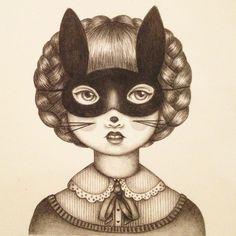 Dolls In Trees - Emma Hampton | DRAWINGS