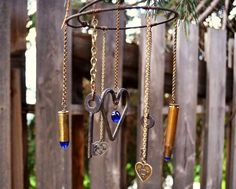Secrets of the wind chime makers Marie Niemann's wind chime close-up