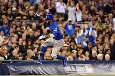 Dexter Fowler, CHC /NL Wild Card game in PIT, Oct 2015