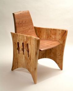 love love love this chair.  Italian cypress and Melaleuca quinquenervia.  Never seen Mel quin wood in furniture before!