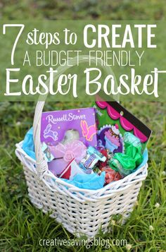 Easter doesn't have to be an expensive Holiday, especially with these 7 must-follow steps to creating your own budget-friendly basket!