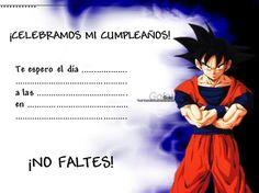 Tarjetas De Invitacion A Cumpleaños Dragon Ball Para Enviar A Amigos 11 HD Wallpapers