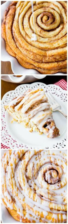 Giant Cinnamon Roll Cake Recipe plus 24 more of the most pinned cake recipes