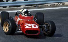 up close & personal …Chris Amon, Ferrari 312/67, 1967 Monaco Grand Prix