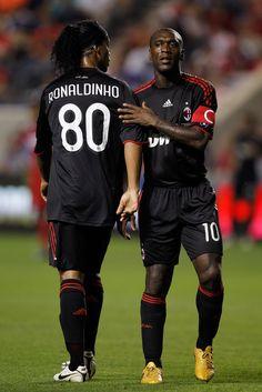 Clarence Seedorf y Ronaldinho