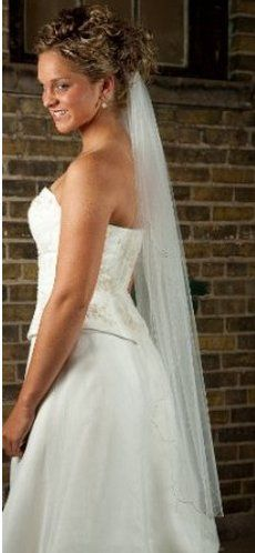 What's Not To Love About A Fingertip Length Wedding Veil?