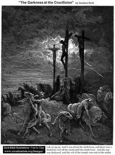 The Darkness At The Crucifixion - Gustave Dore