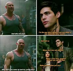 Only Magnus can call him pretty boy