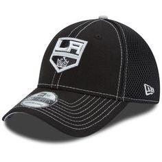 super popular 24281 a18ec Los Angeles Kings New Era NHL Crux Line Neo 39THIRTY Flex Hat - Black