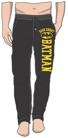 136c67d246b3 DC Comics Justice League Dark Knight Batman Stripe Sleep Pants - poshopolis  batman family