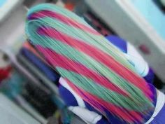 Colored Hair love it