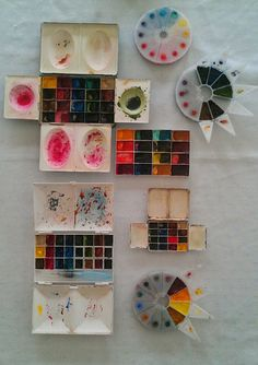 Jane Blundell: My pigments sorted!