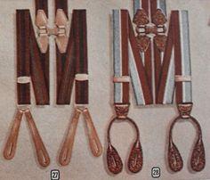 1940s men's suspenders or braces