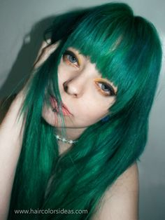 cherry-green-hair