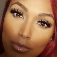 Shantel Jackson in Mykonos Lilly Lashes