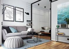 Dom i dizajn - Idealan životni prostor za samca: Moderan mali stan od 29 kvadrata koji privlači pozornost
