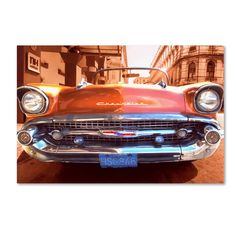 1957 Chevy Photographic Print on Wrapped Canvas