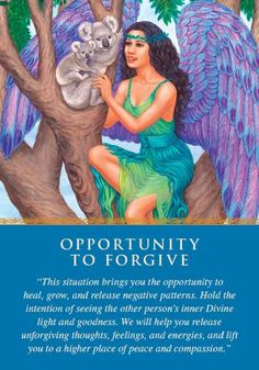 Oracle Card Opportunity to Forgive | Doreen Virtue | official Angel Therapy Web site