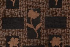 Alpha Chenille Tapestry Upholstery Fabric in Black $9.95 per yard