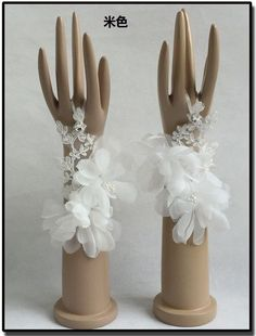 Classy Ivory Fingerless Appliques Bridal Wedding Accessories Prom Bridal Gloves #EveningGloves Formal Wedding, Bridal Accessories, Appliques, Gloves, Ivory, Classy, Prom, Ebay, Fashion