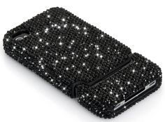 Luxury Black Crystal Case for iPhone 4 4S
