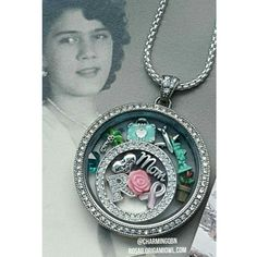 In Memory of Locket... dedicated to my mom! #Origamiowl #livesparkly Create yours at http://rosag.origamiowl.com