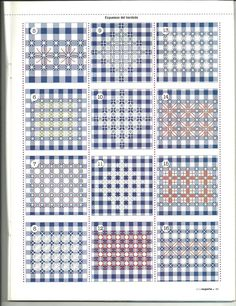 Discover thousands of images about Fat-Quarter: White chicken scratch Hardanger Embroidery, Diy Embroidery, Cross Stitch Embroidery, Embroidery Patterns, Swedish Embroidery, Chicken Scratch Patterns, Chicken Scratch Embroidery, Bordado Tipo Chicken Scratch, Swedish Weaving