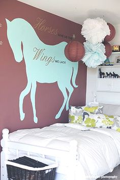 Horse Wall Decal  Horses Give Us...  Many by LivingCreatively, $26.00