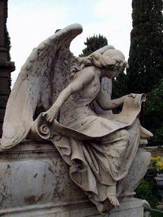 Cemetery- Roman angel…