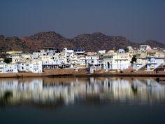Lake at Pushkar, Rajasthan
