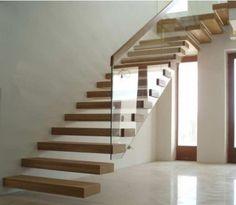 Przykładowa realizacja - schody wspornikowe