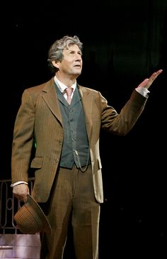 Henry Higgins (Charles Shaughnessy). PHOTO BY PAUL LYDEN