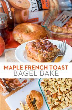 Thomas' Maple French Toast Bagel Bake