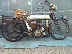 1914 Rudge Multi - wicker sidecar - 500cc