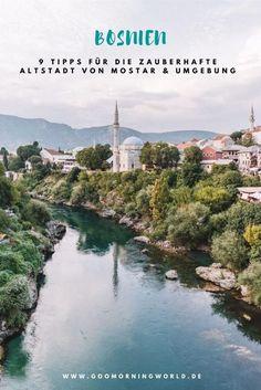 Die Region rund um das historische Städtchen Mostar in Bosnien und Herzegowina begeistert mit seiner Stari most, der historischen und berühmten Brücke. Meine besten Tipps, unsere liebsten Orte und die schönsten Aktivitäten rund um das Städtchen Mostar in Bosnien findest du hier! Bosnien Tipps I Bosnien Bilder I Mostar Tipps #bosnien #tipps #städtetrip