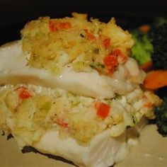 Crab Stuffed Haddock Allrecipes.com
