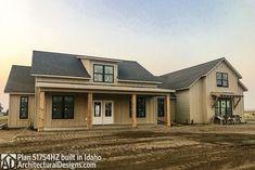 Modern Farmhouse Plan with Bonus Room - 51754HZ thumb - 02