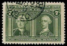 Canada, Scott 100 - 7c Olive Green, CDS, strong color, huge Jumbo margins all around, fresh and Extremely Fine and choice Gem, a really big stamp, (ENV 175-200), 2009 GREENE Catalog value: 150.00  Dealer Aldrich Auction  Auction Starting Price: 95.00 US$