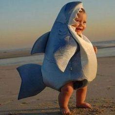 Costume bébé requin - Vêtement - CommentSeRuiner.com
