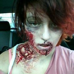 Guess even zombies have to commute to work. Halloween Make Up, Halloween Ideas, Halloween Face Makeup, Zombie Costumes, Halloween Costumes, Zombie Pub Crawl, Zombie Monster, Zombie Birthday, Special Effects Makeup