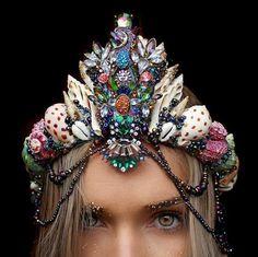 hochzeit hippie vintage muscheln schnecken meerjungfrau