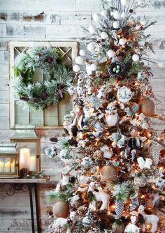 Whimsical Woodlands Christmas Tree. By RAZ Imports.