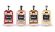 Cahoots Cocktail Co Simple Syrups will Up Your Beverage Game — The Dieline - Branding & Packaging Design