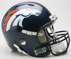 Denver Broncos Authentic Revolution Football Helmet