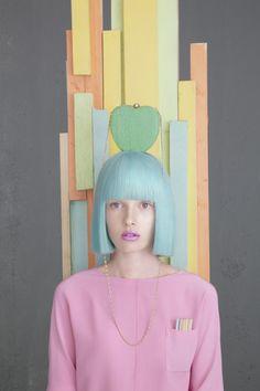 Blunt baby blue crop #hairinspo #pastel