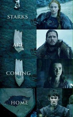 Starks are coming home