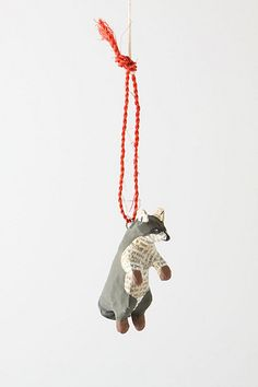 Forest Story Raccoon Ornament