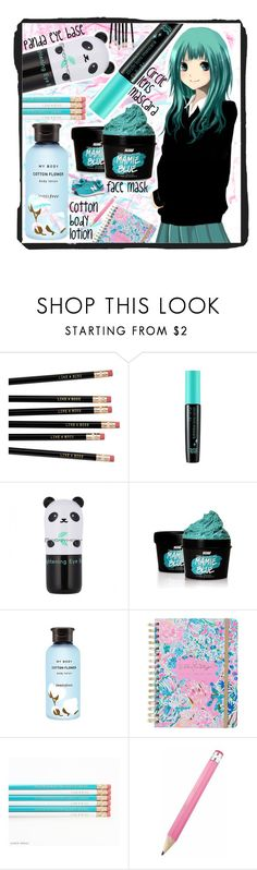 """Back to school"" by beanpod ❤ liked on Polyvore featuring TONYMOLY, SkinCare, Innisfree, Lilly Pulitzer and New Balance Classics"