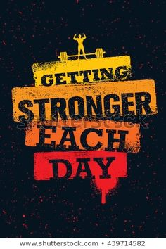 motivation Getting Stronger Each Day. Workout And Fitness Gym Motivation Quote. Best Weight Loss Foods, Quick Weight Loss Diet, Best Weight Loss Plan, Weight Loss Goals, Weight Loss Transformation, Losing Weight, Healthy Breakfast For Weight Loss, Healthy Recipes For Weight Loss, Get Healthy
