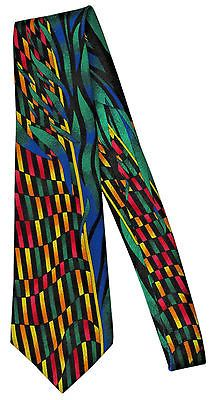 "Rush Limbaugh Colorful Silk Necktie Neck Tie Gold Chain 3� "" x 57"""